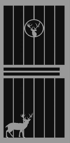 Buck Security Door | Classic Series | Steel Shield Security Doors & More | Arizona Security Doors