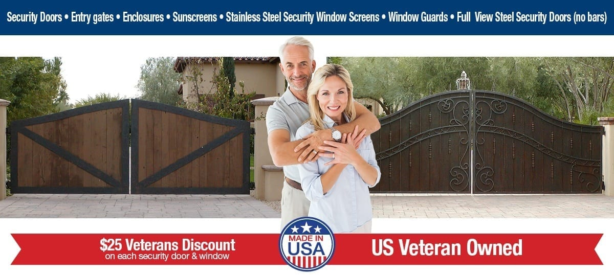 Steel Shield Security Doors & More | Security Doors | Gates | Window Guards | Entry Enclosures | Sun Screens | Crimesafe Products